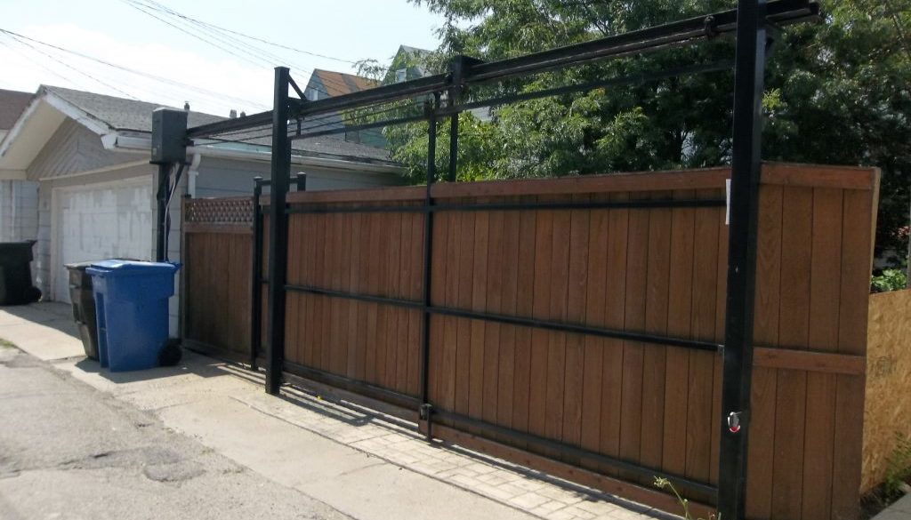Double slide gate 1