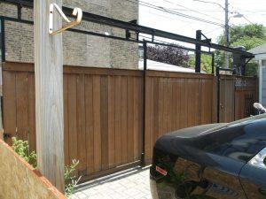 Double slide gate